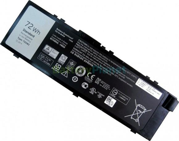 Батарея для ноутбука Dell TO5W1,T05W1,0FNY7,451-BBSE,MFKVP,TWCPG