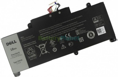 Батарея для ноутбука Dell 74XCR,VXGP6,X1M2Y